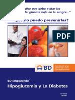 Notas Medicass de Bajo Azucar en La Sangre