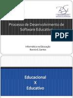 Processo de Desenvolvimento de Software Educativo