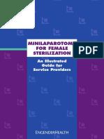 Minilaparotomy A