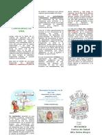 Centro de Salud- Trifoliado sobre Compromiso de vida