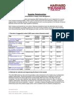 SCM-SupplierRelationships