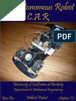 CalAutonomousRobot Report