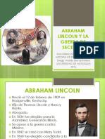 Unidad 6 Abraham Lincoln y La Guerra de Secesión - Ana Milena Sánchez