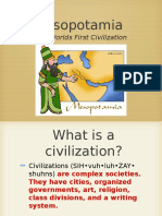 History Mesopotamia