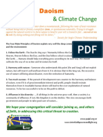 Daoism and Climate Change