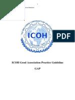 ICOH - Good Association Practice 2009