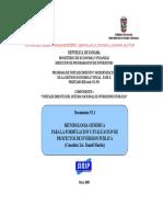 01 2generica Para La Formulacion y Evaluacion de PIP