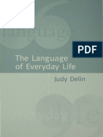 Judy Delin - The Language of Everyday Life