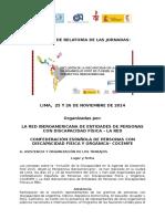 Relatoria de Las Jornadas Lima Nov 2014 2 (1) (3) (1).Hoy