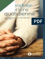 411f Calendrier de Prière Quotidienne Calendrier de Lecture Biblique (1)