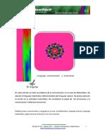Lenguaje Comunicacion y Emociones Sentipensar La Matematica 22