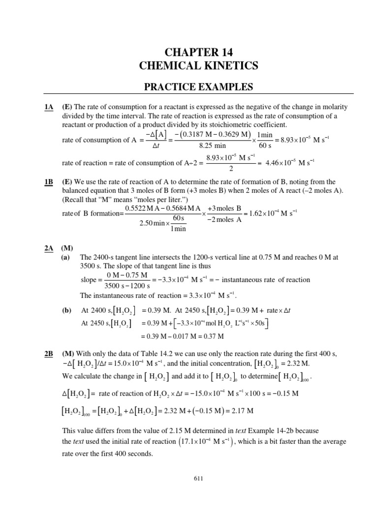 All1bcsmpdf Reaction Rate Activation Energy Example Question #1 : How To  Find The Slope Of