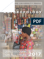 Anthropology 2017 Catalog