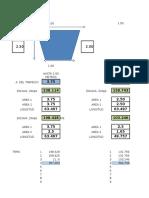 Excel de Pendientes Desague