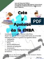 Crea y aprende en la ENBA