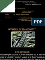 Trabajo de Infrestructura Vial