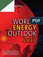 IEA World Energy Outlook 2012