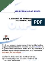 UPLA ELECCIONES 2009