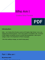 who am i presentation