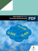 Understanding ITU-T Error Performance Recommendations
