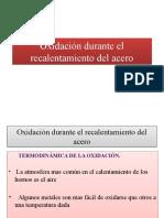 Oxidacion y Cinetica de Oxidacion Del Acero