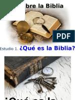 Dlb 1 Qué Es La Biblia - Samuel González