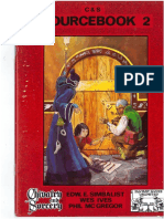 Chivalry & Sorcery - Fgu - Second Edition - Sourcebook 2