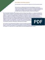 Creciente Interés Por Estos Estudios en Algunas Universidades Españolas