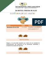 Proyecto CULTIVO DE MENTES COSECHA DE ALAS_ El Carnaval de Las Galletas