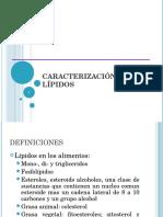 analisis de lipidos