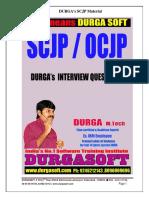 Durga's Interview Questions