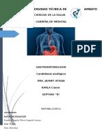Historia Clínica Digestivo