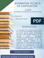 Normativa-tecnica-g-0.50 Expo - Seguridad en La Ing Civil