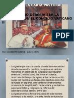Síntesis de La Carta Pastoral de Monseñor Mcgrath