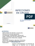 Infecciones en Qx Universidad Continental