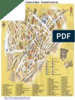 Mapa de Baeza