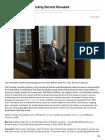Joel Greenblatt's Investing Secrets Revealed - Barron's