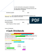 Dividends Reviewer