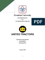 Final Report Internship - Example