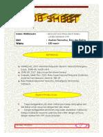 Job Sheet Resusitasi