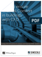 White Paper- How to Ensure Thermal Comfort in Buildings With CFD