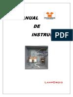 Manual de Instruções LampDroid