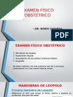 2. Examen Fisico Obstetrico