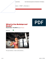 What is the Bulletproof Body » Robertson Training Systems