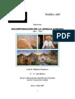 Ppp Incorporacion de La Lengua Aymara