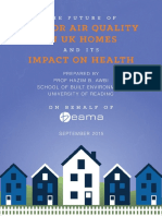 Indoor air quality in UK homes and its impact on health