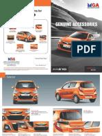 Alto K10 Special editon Accessories Brochure2016