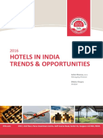 HVS - 2016 Hotels in India- Trends Opportunities