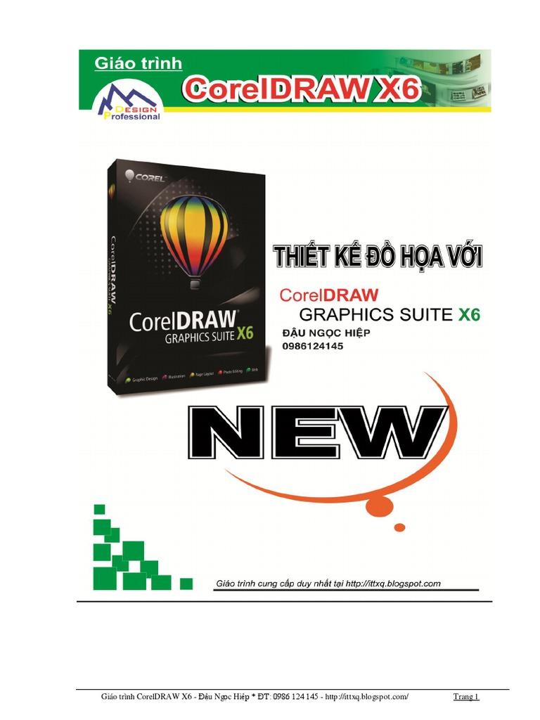 Giao trinh CorelDRAW X6 pdf