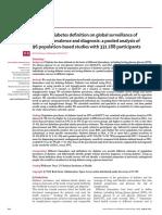 Global Surveillance of Diabetes